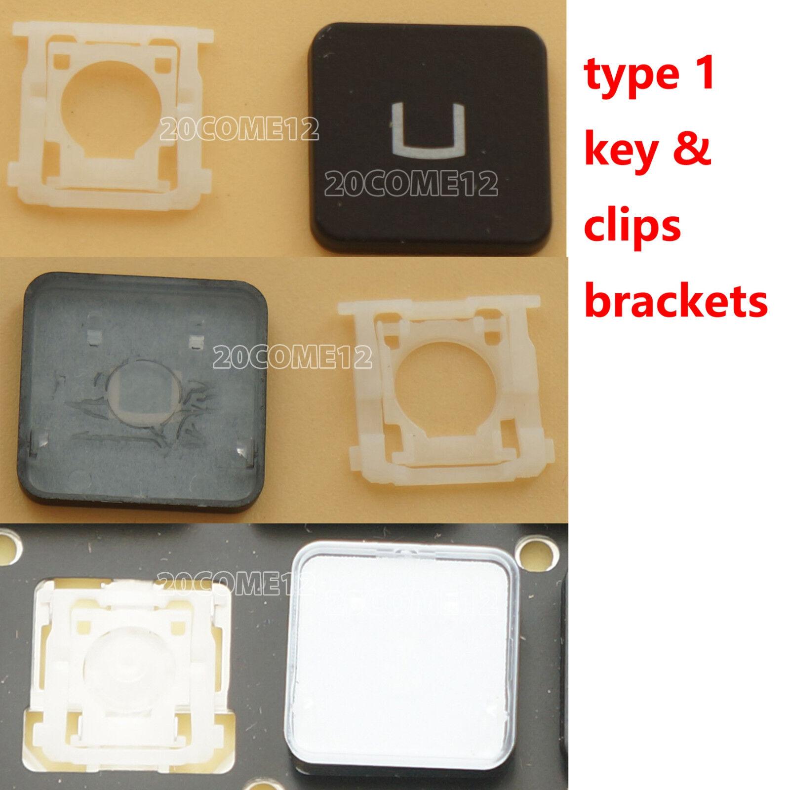 NEW For MSI GE62VR GE72VR GS63VR GS73VR GT62VR backlit US keyboard KEY & Clips