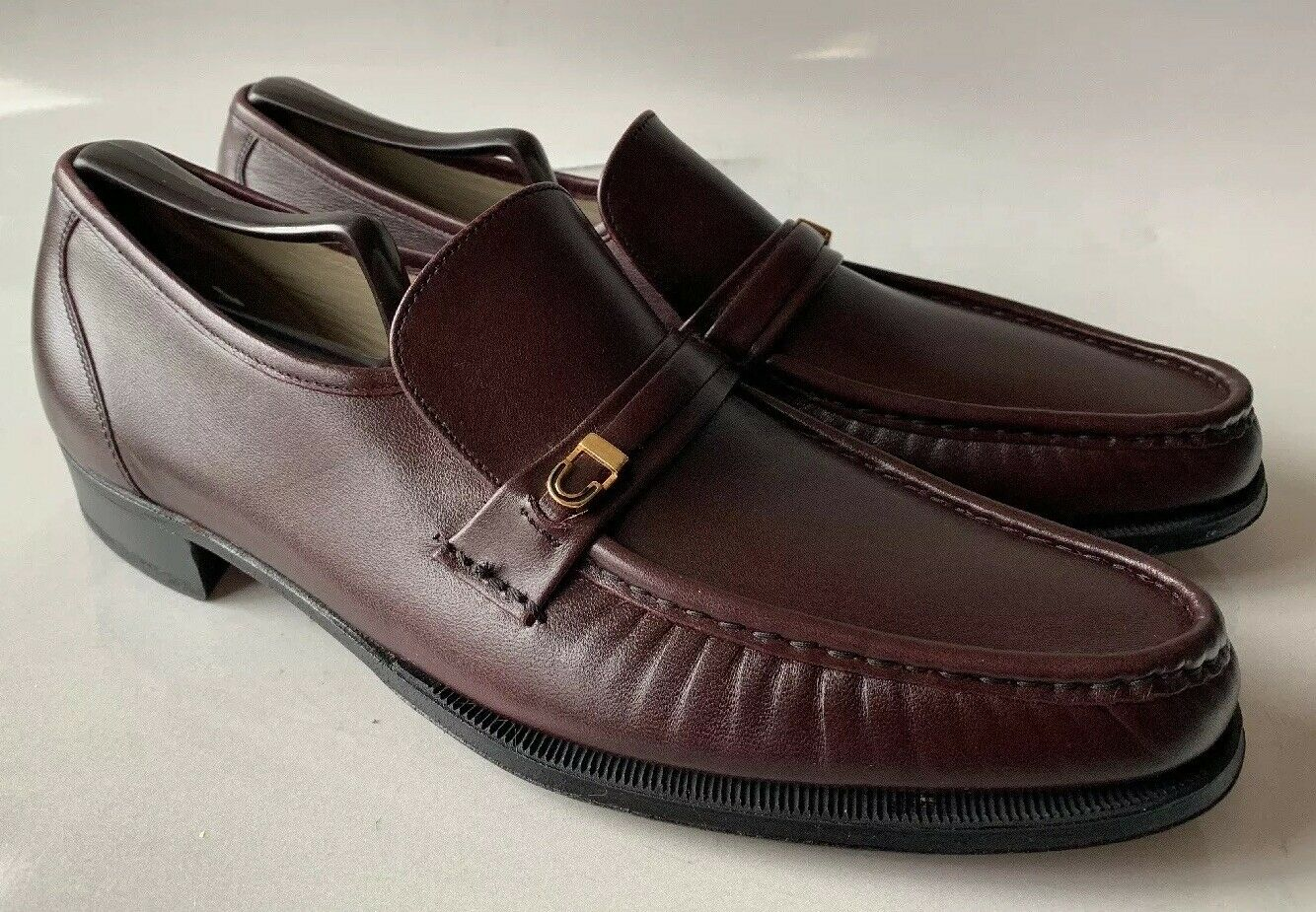New Florsheim Imperial Como 10 A Burgundy Cordovan Red NWOB