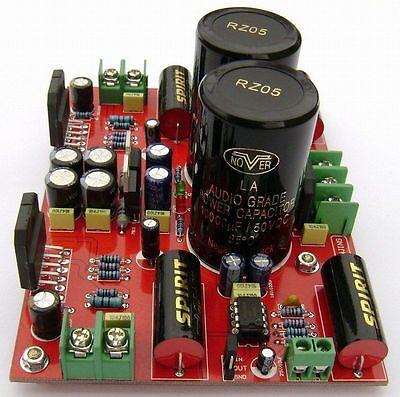 2×10000UF Assembled LM3886 + LM833 Power amplifier board 68W+68W  AC28V-0-AC28V