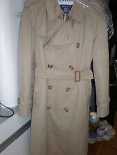 Vintage Burberrys  Prorsum Khaki Classic Trench Coat Jacket Men =42R RAIN COAT