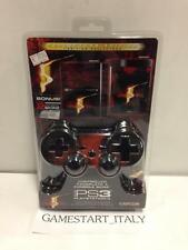 FACEPLATE CONTROLLER E CONSOLE FAT MADCATZ RESIDENT EVIL 5 PS3 NUOVO