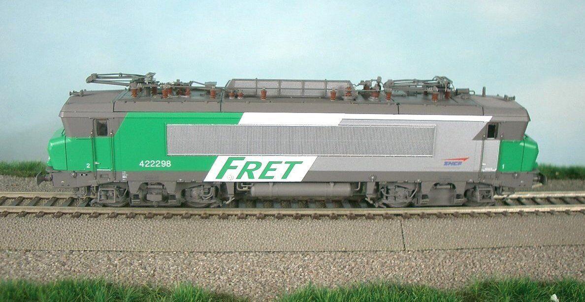 LS Models 10054 BB SNCF 22200 4-ACH e-Lok Alsthom FRET Verde/Grigio/Argento ep5 NUOVO