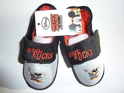 Disney Mickey Mouse rocas Chicos Zapatillas Nuevo Con Etiquetas