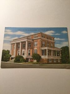 Old Postcard YMCA Building Main Street Hattiesburg Mississippi