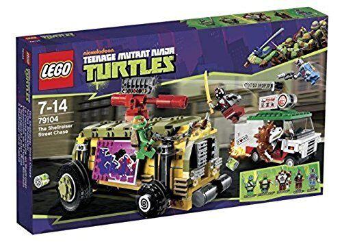 LEGO Teenage Mutant Ninja Turtles 79104 The Shellraiser Street Chase NEW SEALED