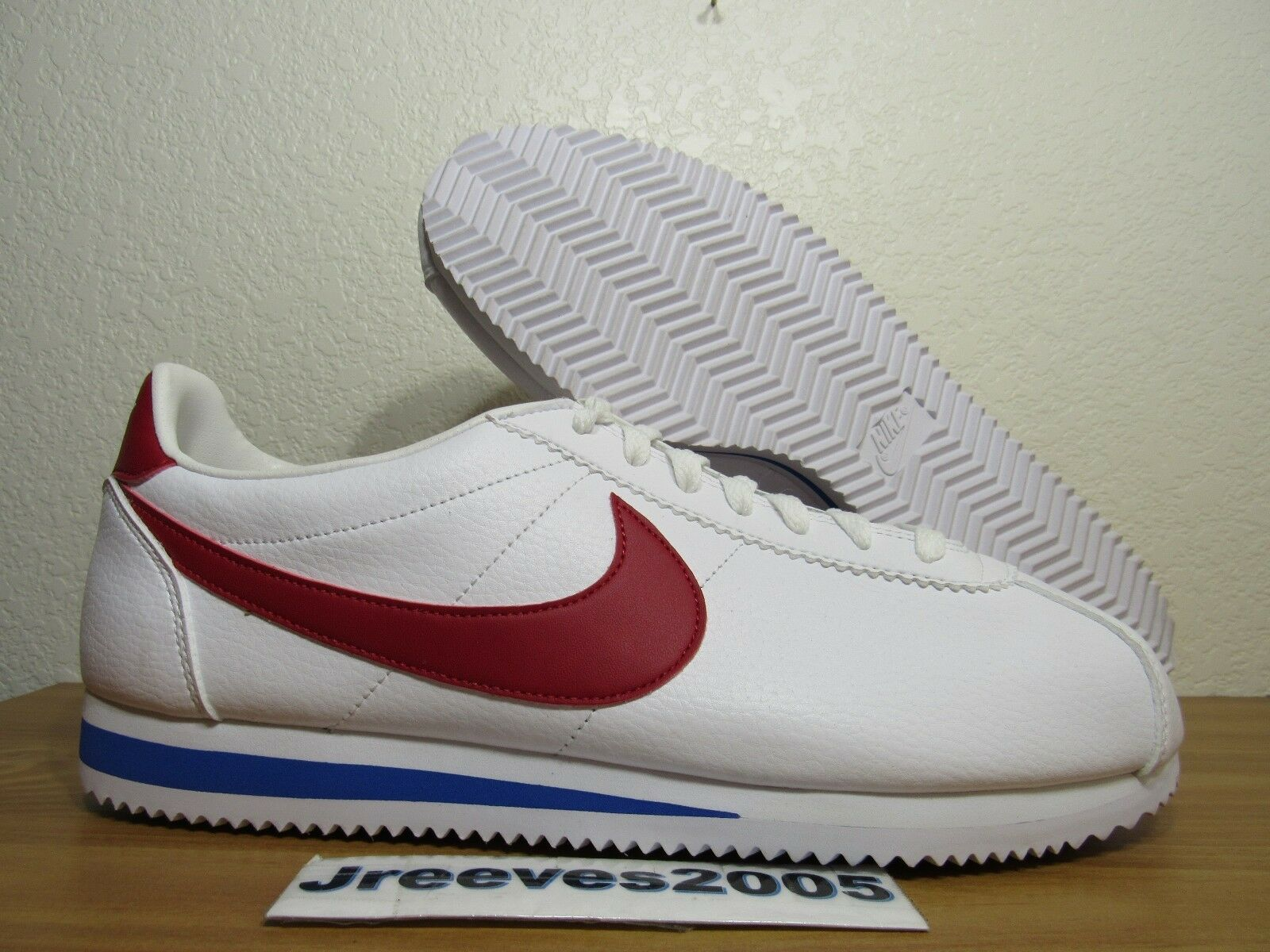 super cute 49205 0ac54 Nike Classic Classic Classic Cortez Leather Sz 11.5 100% Authentic Forrest  Gump Retro 749571 154
