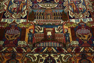 Precise Bilder Kaschmar Teppich Takht-e Jamshid 390x300 Handgeknüpft Highly Polished Area Rugs Rugs & Carpets