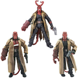 "MEZCO HB Series 2 Wounded Hellboy 7"" PVC Action Figure Collection Toy Model Gift"