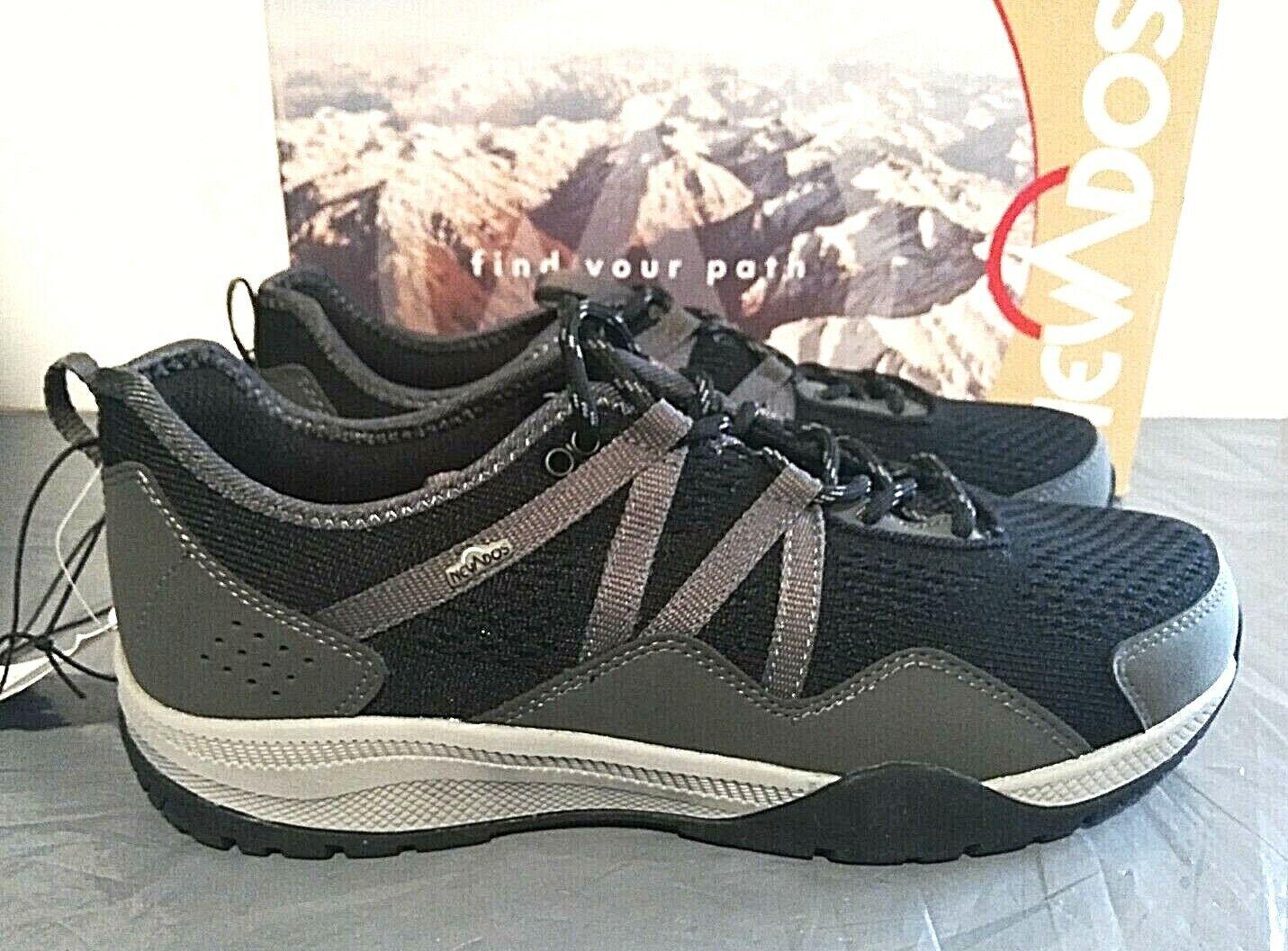 Nevados Men's Brandon Hiking Sneakers Shoes - PICK SIZE BLACK - 1G_09