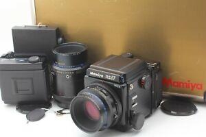 Nuovo-di-zecca-in-caso-Mamiya-RZ67-Pro-II-110mm-F2-8-W-LENTE-BONUS-180mm-DAL-GIAPPONE-1435