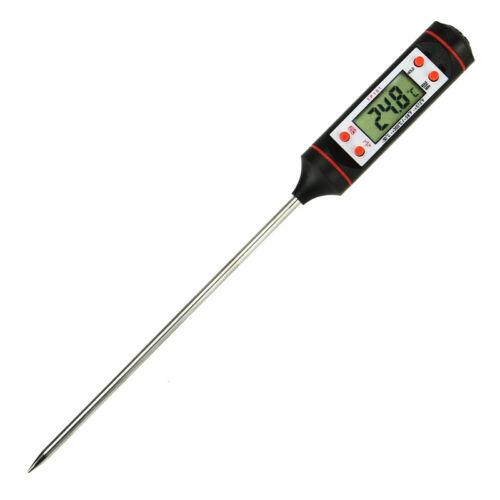 Elektronisches Fleischthermometer Küchengeräte Digital Sonde BBQ Thermometer DR