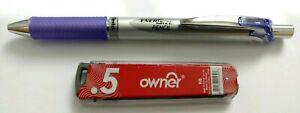 PENTEL-EnerGize-Mechanical-Automatic-Propelling-Pencil-0-5mm-Violet-Free-Lead-HB