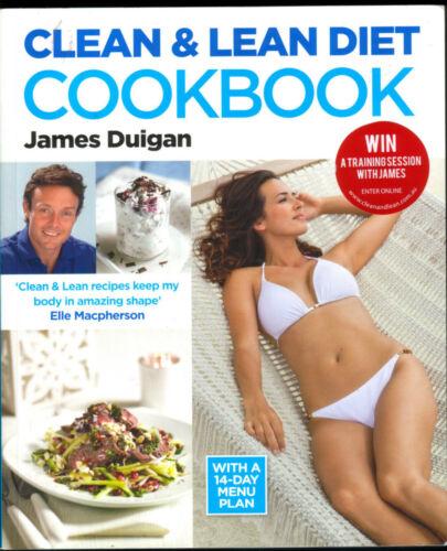 1 of 1 -  CLEAN & LEAN DIET COOKBOOK:14-day Menu Plan   James Duigan   Qld Copy QikPost