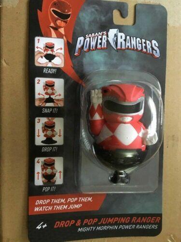 POWER RANGERS DROP AND POP JUMPING RANGER RED