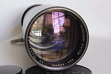 TAMRON TAISEI KOGAKU 200-400 mm 1:6 .5 cierre Zoom Lente M42 ajuste como nuevo (usado)