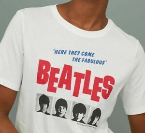the beatles t shirt h