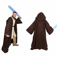 Obi-Wan Kenobi Jedi Costume Hallowen adult Star Wars Padawan Custom Cotton Robe