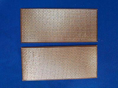 10pcs Stripboard Prototype project circuit PCB Copper Vero Breadboard 6cm X 14cm