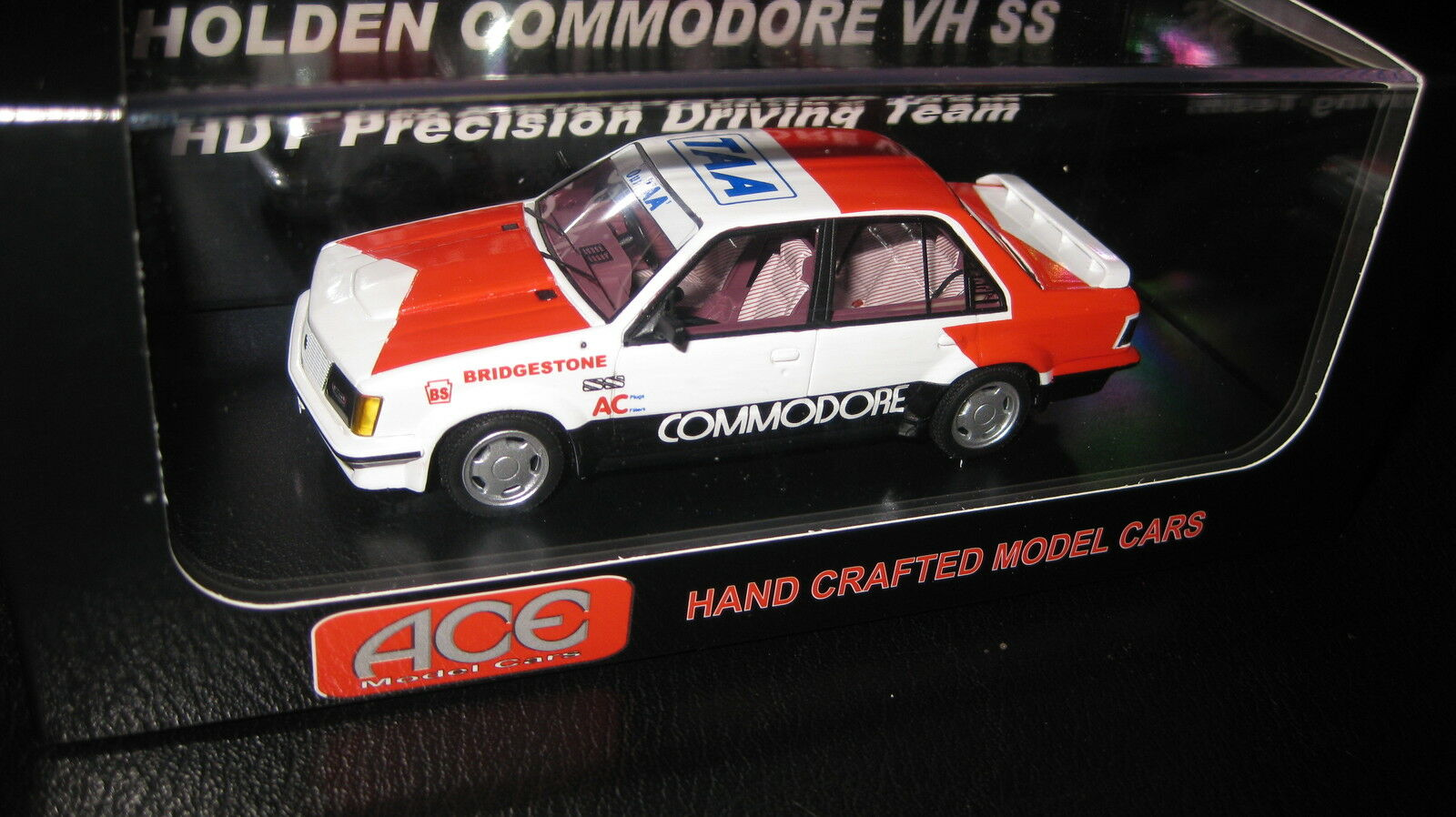 1 43 ACE HOLDEN VH COMMODORE SS HDT PRECISION DRIVING TEAM with Decals supplied