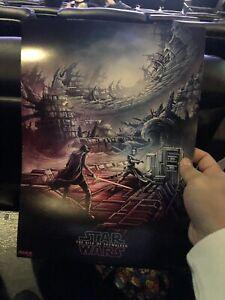 Star Wars Rise Of Skywalker Poster Dan Mumford Week 1 Imax Exclusive Ebay