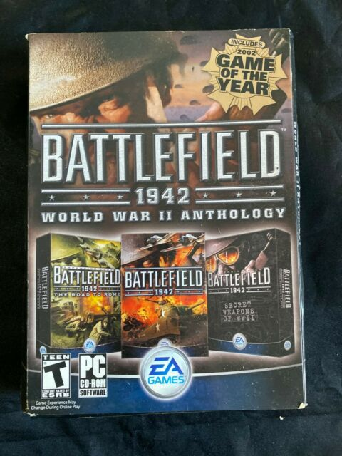 Battlefield 1942: World War II Anthology (PC, 2004) COMPLETE MY PERSONAL COPY