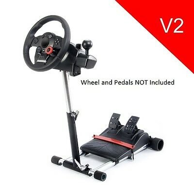 X Refurbished V2 Racing Wheel Stand Pro for Logitech GT, Pro, EX or FX NEW