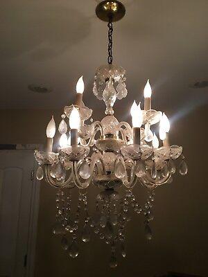 Details about Vintage Cut Glass Double Chandelier Light 27</div>                                   </div> </div>       </div>                  <div style=