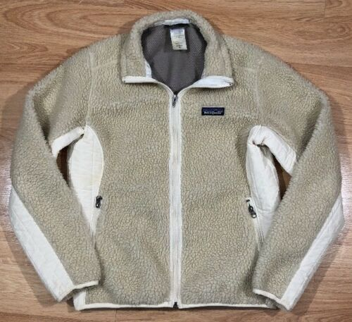 Pile Kvinders Color Fleece Medium Patagonia Cream Retro Jakke Størrelse Deep X P61xn8qawI