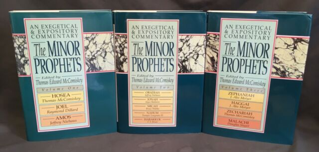The Minor Prophets Mccomiskey Commentary Set Biblical Theology Epistle Reformed