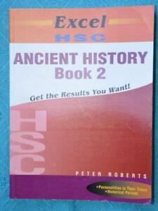 EXCEL-HSC-Ancient-History-Study-Guide-BOOK-2-2013-P-Roberts-GR8-Cond