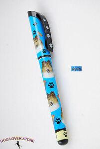 Sheltie Dog Pen Replaceable Ballpoint Black Ink