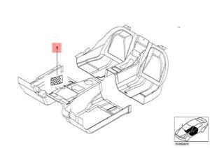 BMW Genuine In Car Front Floor Storage Parcel Net 51472491097 51472263062