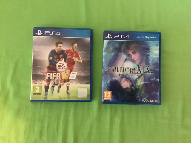 PlayStation 4 spil , PS4, Ps4 spil  Final fantasy x/x2 hd…