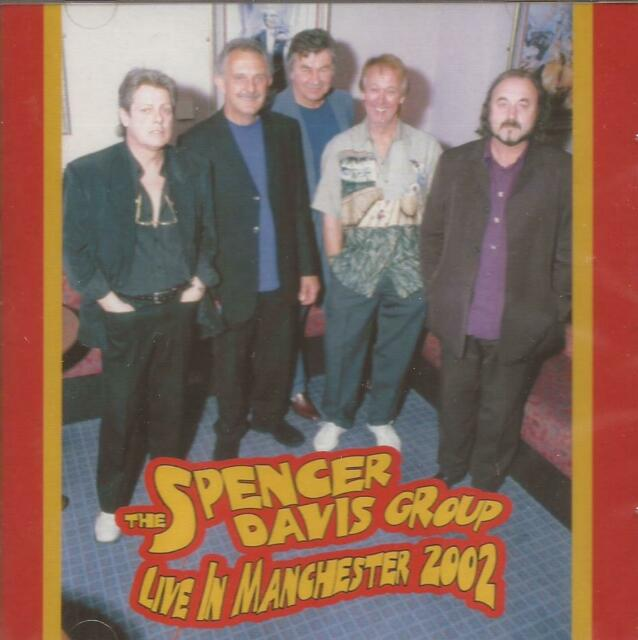 The Spencer Davis Group - Live In Manchester 2002 (CD)  NEW/SEALED