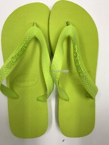 d2472e433031 Havaianas Top NEON Green Flip Flop Verde Lime Brazil - size 35 36 ...