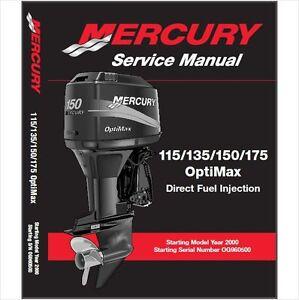 mercury 115 135 150 175 optimax outboard motor mercury outboard owners manual download mercury outboard owners manual 2013