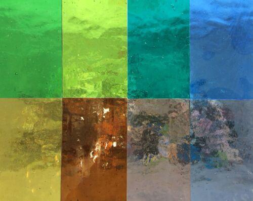Vitraux Outils//Fournitures Hobby Pack 8 sélectionnés couleurs 255 mm x 240 mm un