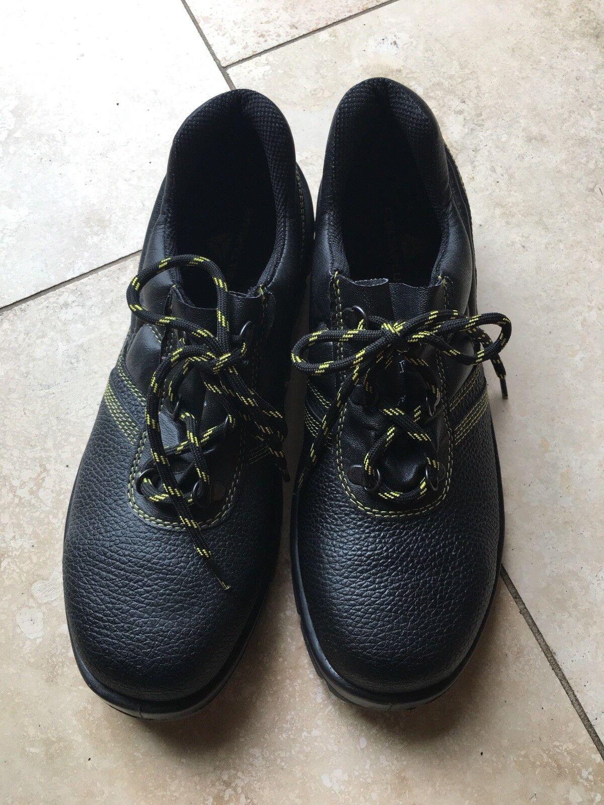 Deltaplus Steel 9 toecap Safety Shoes size 9 Steel 308e44