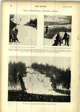 1899 Norwegian Winter Derby Holmenkollen Cuckoo Avenue Theatre