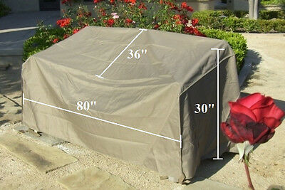 """New Patio Furniture Cover Patio Garden Outdoor  Sofa Cover.80/""""L By Formosa"""