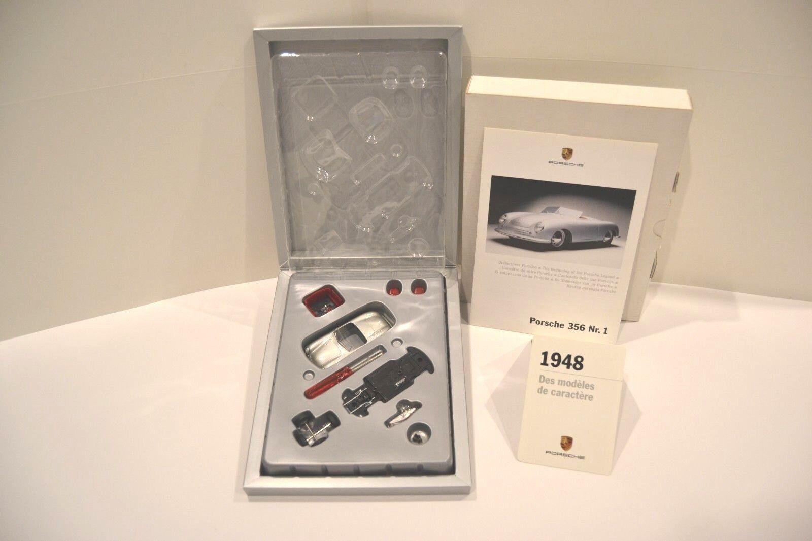 Schuco 1 43. Porsche 356 nº 1 1948  Christophorus 1948-2008 60 ans de Porsche.