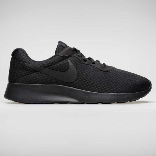 Nike Tanjun para hombre elegantes Zapatillas zapatos deportivos atléticos informales transpirables Inteligente Negro