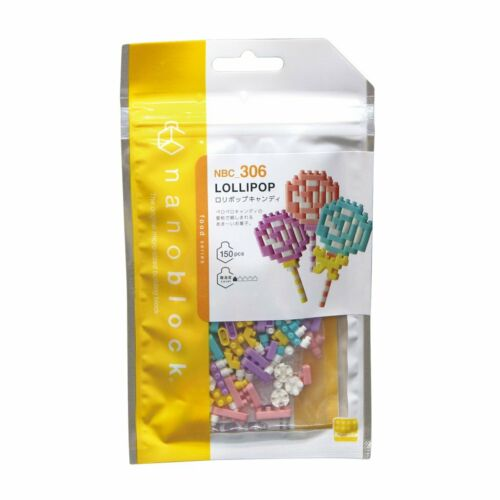 NEW NANOBLOCK Lollipop Nano Block Micro-Sized Building Blocks Nanoblocks NBC-306