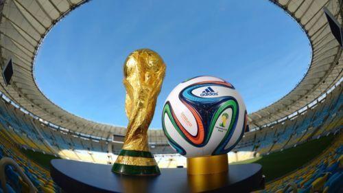 quality design 99705 50efa 2014 Brazil World Cup Soccer Trophy Replica Football Brand New Statue Model  GIFT