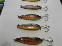 12 X Fishing Tackle,baits,lure Jig,worm,jigging Spoon,apex,3,1/8oz One Eye Jack