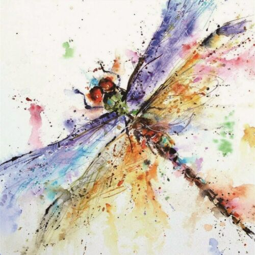 5D Diamond Painting Colorful Dragonfly Embroidery Cross Stitch Kits Home Decor