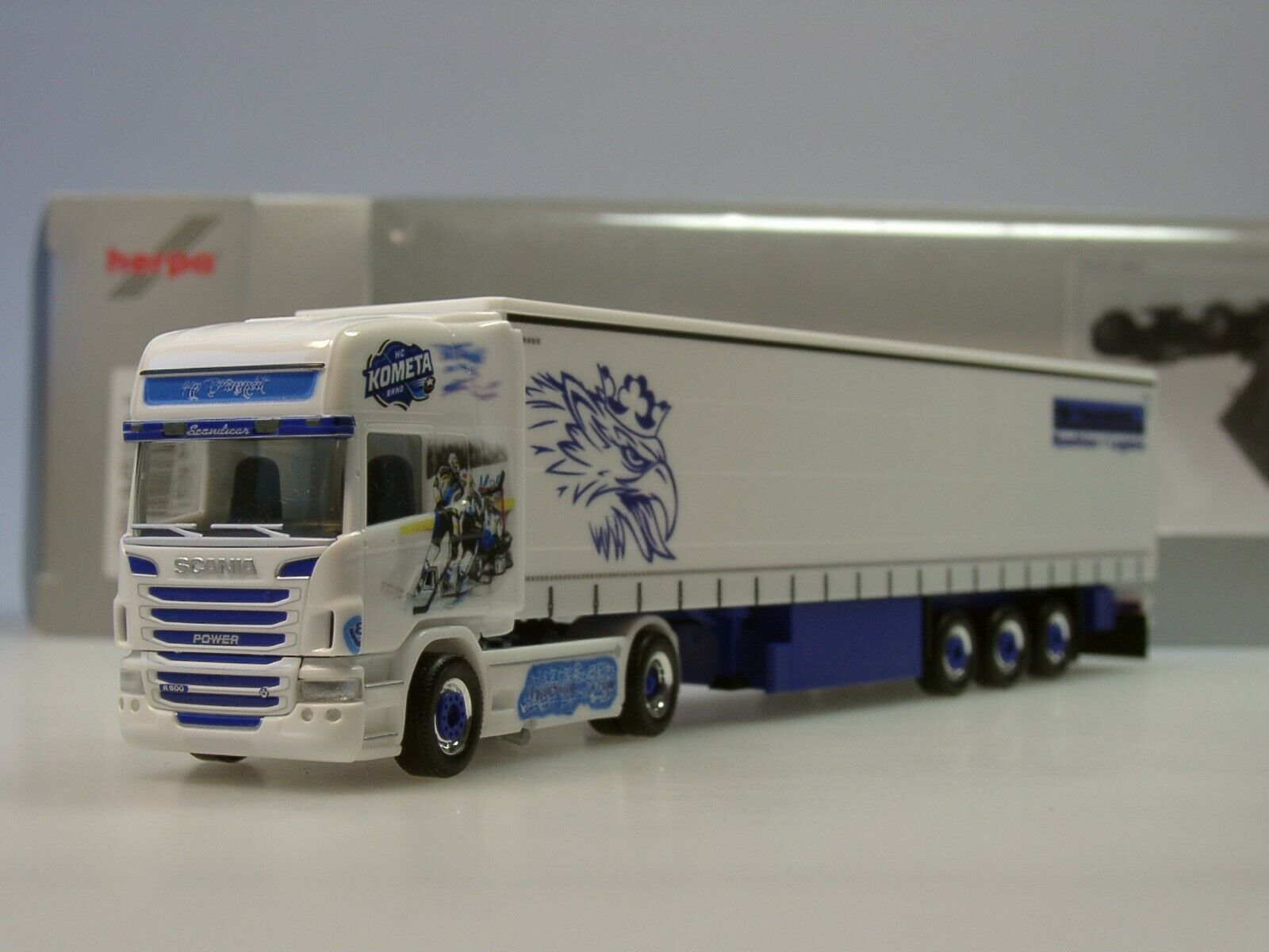 barato en alta calidad Herpa scania R R R 09 TL, transped Kometa - 914574 - 1 87  diseños exclusivos