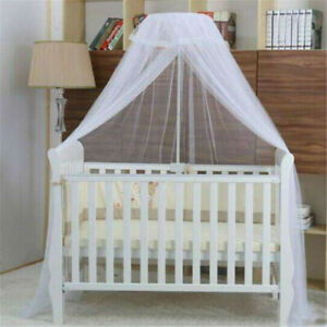 Crib Netting Baby Bedding Realistic Kid Baby Bed Canopy Bedcover Mosquito Crib Netting Curtain Bedding Round Dome Tent Cotton