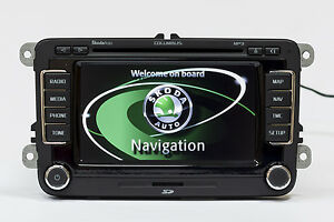 skoda columbus lcd v15 maps rns 510 navigationunit octavia superb fabia yeti gps ebay. Black Bedroom Furniture Sets. Home Design Ideas