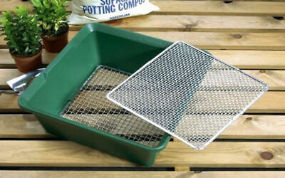Garland 2 In 1 Deep Garden Potting Soil Sieve 6mm /& 12mm Removable Mesh Grids